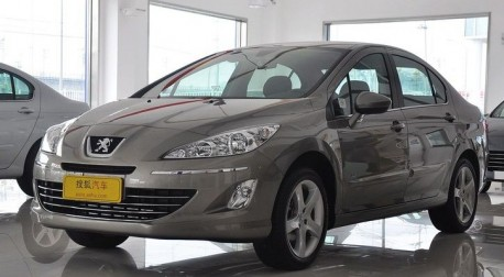 Peugeot 408 in China