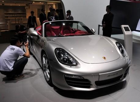 New Porsche Boxter China