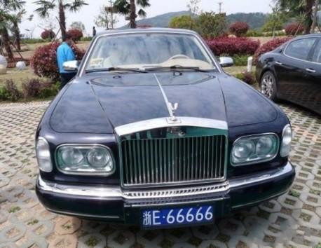 Rolls-Royce Silver Seraph in China