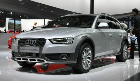 Audi A4 Allroad China