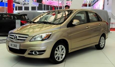 Beijing Auto E-series sedan