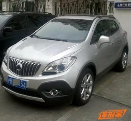 Buick Encore China