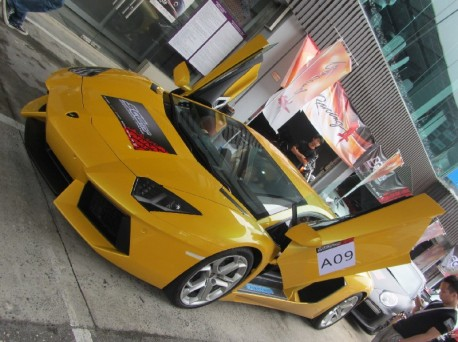 Super cars in China