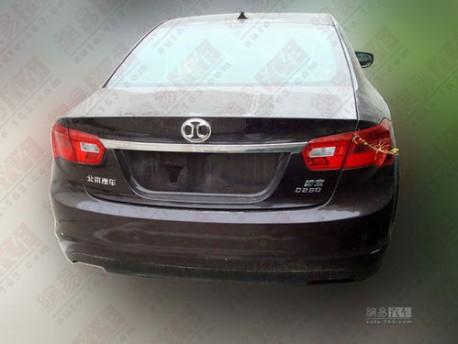 Beijing Auto B70G testing in China