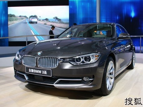 BMW 3Li hits the China auto market