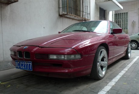 Spotted in China: BMW 850i
