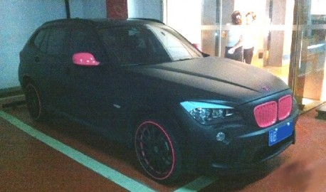 BMW X1 is a bit Pink in China
