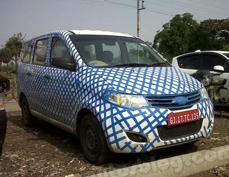 Chevrolet Enjoy (Wuling Hongguang) testing in India