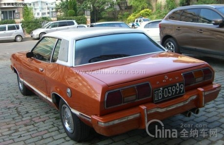 Rare second generation Ford Mustang on sale in China