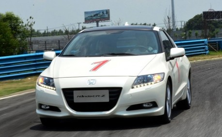 Honda CR-Z hits the Chinese auto market