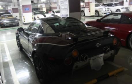 Super Car garage in China