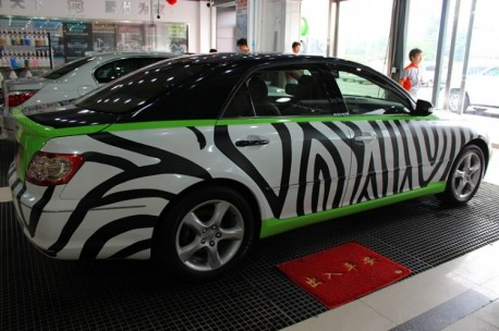 Toyota Reiz is a Zebra in China
