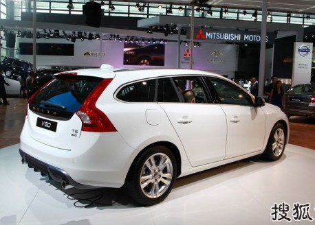 Volvo V60 T5 launched on the China auto market
