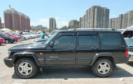 Spotted in China: Beijing-Jeep 2500