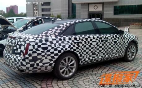 Cadillac XTS testing in China