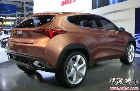 Chery TX SUV to see production in China