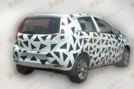 Spy Shots: Chevrolet Sail EV testing in China