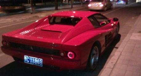 Spotted in China: Ferrari 512M