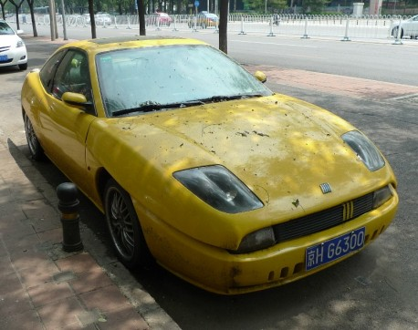 Spotted in China: Fiat Coupe