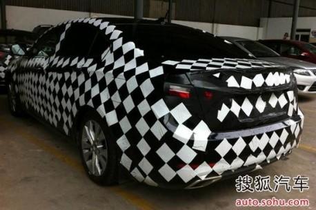 Haima Yao testing in China again