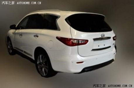 Infiniti JX testing in China