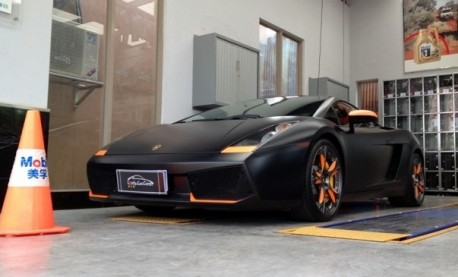 Lamborghini Gallardo China