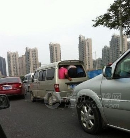 Packing a minivan to the Max in China