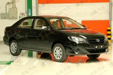 facelift for the Toyota Corolla EX in China