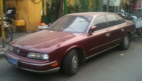Spotted in China: Infiniti Q45 sedan