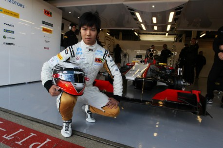 China's Ma Qinghua to drive HRT F1 car at Monza