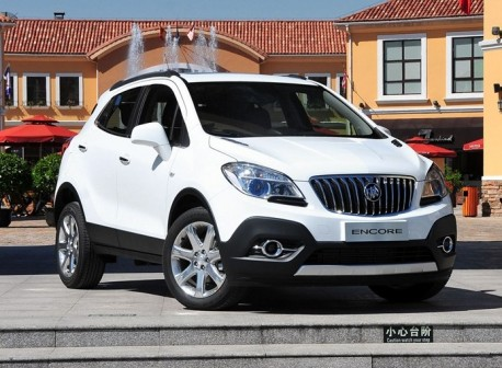 Buick Encore launched on the Chinese car market