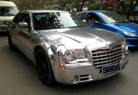 Chryler 300C is Bling in China