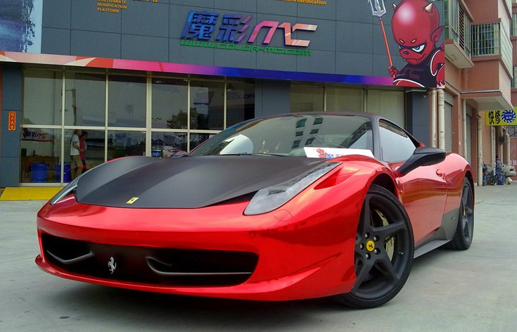 matte black alloys finish the job time for the rest of our 458 collection baby blue crashed pink scroll down china limited edition purple - Ferrari 458 Italia Black And Red