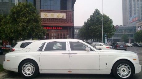 Rolls-Royce Phantom is a White Whale in China