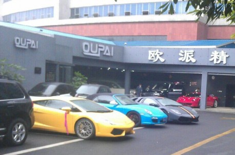 Super Car Super Spot in China: at the Hotel