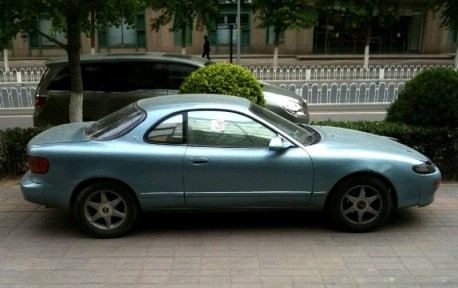 Spotted in China: fifth generation Toyota Celica