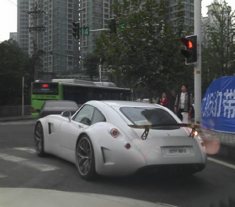 Spotted in China: Wiesmann MF5 in the Wild