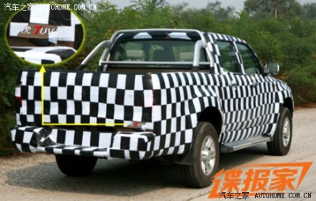 Spy Shots: Zhongxing Tiger TUV testing in China