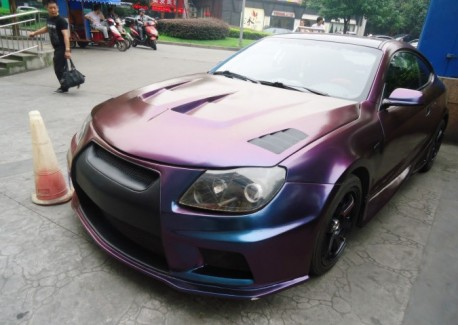 Brilliance Coupe thinks it is a Nissan GT-R in China