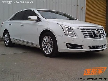 Spy Shots: Cadillac XTS is ready for the Chinese auto market