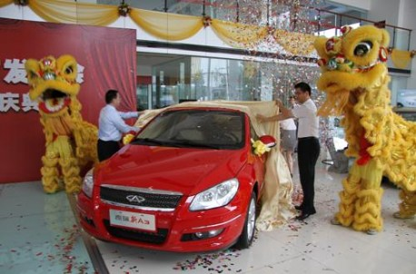 China auto sales slightly Down in October