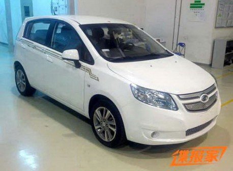 Spy Shots: Chevrolet Sail EV to be called 'Springo' (?)
