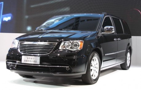Chrysler Grand Voyager launched on the China auto market