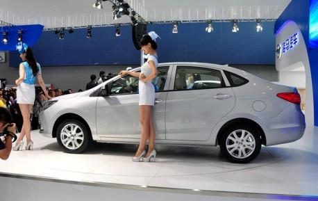 Haima M3 debuts at the Guangzhou Auto Show