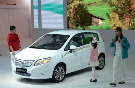Shanghai-GM Springo EV launched on the Guangzhou Auto Show