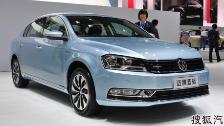 Volkswagen Magotan & Sagitar Blue Motion hit the China auto market