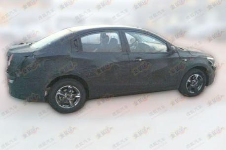 Spy Shots: Guangzhou Auto Trumpchi AF seen in the wild again