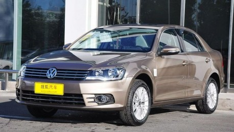 Facelifted Volkswagen Bora hits the China auto market