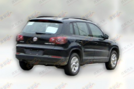 Spy Shots: Volkswagen Tiguan will get a facelift in China