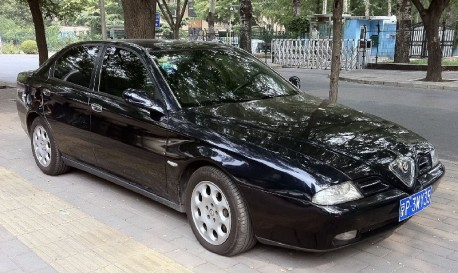 Spotted in China: Alfa Romeo 166